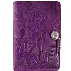 Purple Iris Handmade Leather Journal