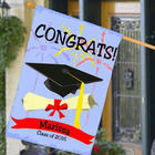 Personalized Graduation House Flag