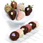 Spring Blooms Berries & Oreo Pops Gift Box
