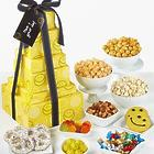 Smiley Dot 6-Tier Snack and Sweets Gift Tower