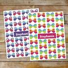Personalized Butterfly Pattern Folders
