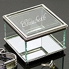 Expressions Glass Jewelry Box