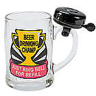 Beer Drinking Champ Mug with Bell