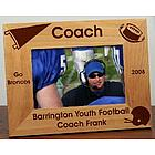 Football Coach Personalized Frame