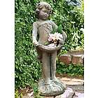 Little French Girl Garden Statue
