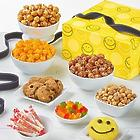 Smiley Dot Snacks and Sweets Sampler Gift Box
