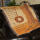 Peace for All Time Personalized Memorial Throw Blanket