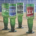 Upside Down Beer Bottle Glasses