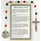 Military Chaplet with Land, Air, and Sea Military Medal