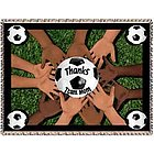 All 4 One Soccer Team Mom Tapestry Throw