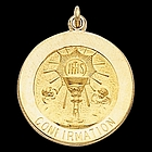 Confirmation Medal in 14K Gold