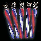 Patriotic Glow Swizzle Lightsticks
