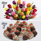 Ultimate Two Days For Her Tulips and Dipped Strawberries