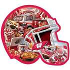 Wisconsin Badgers Football Helmet Shaped Puzzle