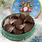 Chocolate Covered Potato Chips Santa Gift Tin