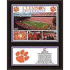 Clemson Tigers Plaque