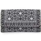 Turkish Inspired Black and White Wallet