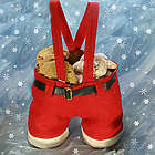 Santa Pants Gift Bag with Cookies