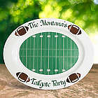 Personalized Tailgater Football Platter