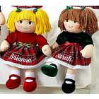 Personalized Christmas Rag Doll