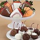 Chocolate Covered Cherries and Sports Strawberries