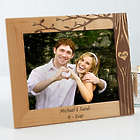 Carved In Love Personalized 8x10 Picture Frame