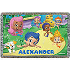 Bubble Guppies Friends Personalized Throw