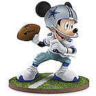 "Dallas Cowboys ""Quarterback Hero"" Mickey Mouse Figurine"