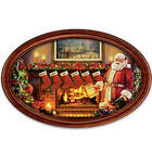 Cherished Christmas Memories Personalized Framed Plate