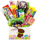 Hoppin' Easter Bunny Retro Candy Gift Basket
