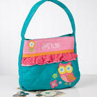 Personalized Loveable Owl Girls Purse