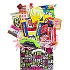 Chalkboard Sweet Sentiments Retro Candy Gift Basket
