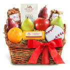 Fruit, Cheese & Snacks Gift Basket