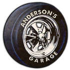 Personalized Garage Tire Sign