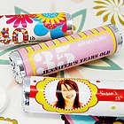 Personalized Birthday Party Breath Mint Candy Rolls