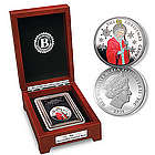 2014 Saint Nicholas Silver-Plated Christmas Crown Coin