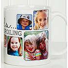 Grandkids, They're Worth Spoiling Custom Photo Coffee Mug