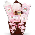 Calming Rose Spa Gift Basket