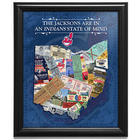 Personalized Baseball State of Mind MLB Framed Art Print