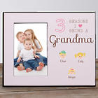 Personalized Reasons I Love Picture Frame in Pink