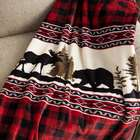 Wilderness Buffalo Plaid Fleece Throw Blanket