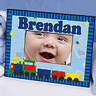 All Aboard Baby Train Personalized Frame