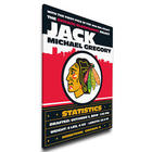 NHL Baby Birth Announcement Personalized Canvas