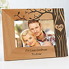 Personalized Carved In Love Romantic Picture Frame