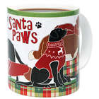 Santa Paws Pets Holiday Mug