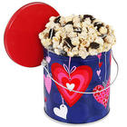 Valentine's Day White Chocolate Cookie Popcorn Gift Tin