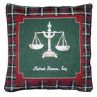 Personalized Lawyer Tapestry Pillow