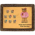 Personalized Bear Plaque for Principal