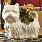 Windsor Ceramic Dog Planter