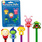 Parasite Pals Pencil Toppers